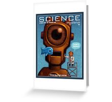 Science Mysteries Greeting Card