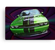 Challenger SRT Canvas Print