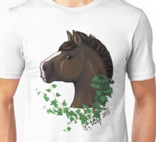 Draft Horse with Ivy Unisex T-Shirt