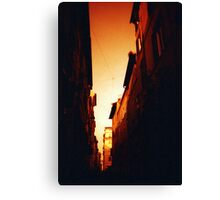 Blood Orange - Lomo  Canvas Print