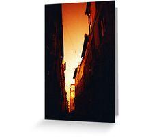 Blood Orange - Lomo  Greeting Card