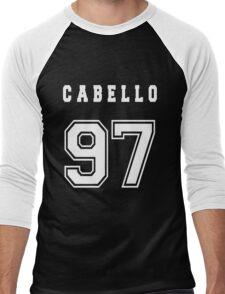 CABELLO - 97 // White Text Men's Baseball ¾ T-Shirt