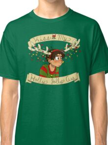Kiss my Holly Jolly Ass Classic T-Shirt