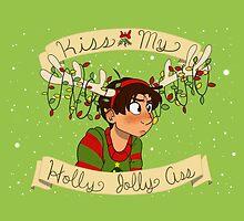 Kiss my Holly Jolly Ass by VanitasVanilla