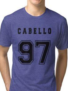 CABELLO - 97 // Black Text Tri-blend T-Shirt