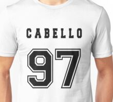 CABELLO - 97 // Black Text Unisex T-Shirt