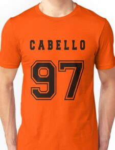 CABELLO - 97 // Black Text Unisex T-Shirt