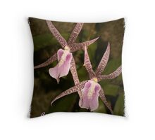 Walking Together Throw Pillow