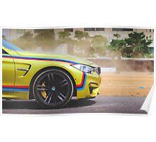 BMW M Car Poster
