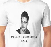 Edward snowden transparency czar Unisex T-Shirt