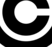 DBZ - Capsule Corp Logo Sticker