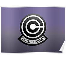 DBZ - Capsule Corp Logo Poster