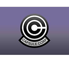 DBZ - Capsule Corp Logo Photographic Print