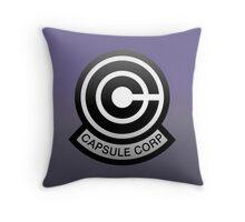 DBZ - Capsule Corp Logo Throw Pillow