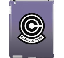 DBZ - Capsule Corp Logo iPad Case/Skin