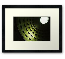 Let There Be Light - Lomo Framed Print