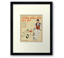 Ferris Buellers Day Off Framed Print