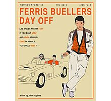 Ferris Buellers Day Off Photographic Print