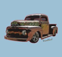 Ratty Ford Pickup T-Shirt One Piece - Short Sleeve