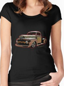 Ratty Ford Pickup T-Shirt Women's Fitted Scoop T-Shirt