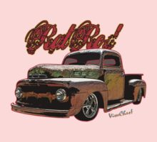 Ford Pickup Rat Rod T-Shirt One Piece - Short Sleeve
