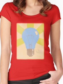 Great idea... Women's Fitted Scoop T-Shirt