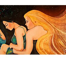 I Wish I Could Hold You MotherEarth Photographic Print