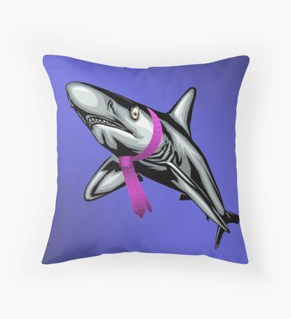 Dapper Shark Throw Pillow