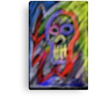 """Skull 1"" Canvas Print"