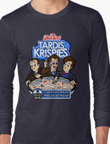 Tardis Krispies Long Sleeve T-Shirt