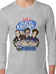 Tardis Krispies Long Sleeve T-Shirt