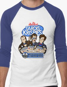 Tardis Krispies Men's Baseball ¾ T-Shirt