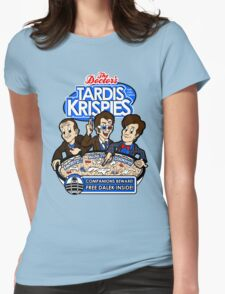 Tardis Krispies Womens Fitted T-Shirt
