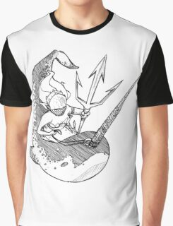 Narwhal Mount Graphic T-Shirt