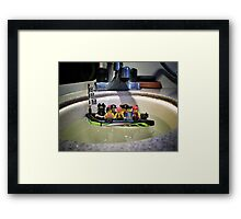 Pirate Practice: Floating Framed Print