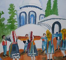 Greek Dance by Hal Newhouser