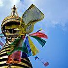 Boudhanath Stupa by Valerie Rosen