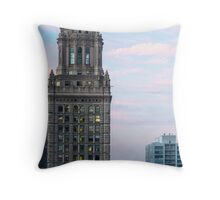 Classic Architecture, Chicago Skyline - Chicago Ill. Throw Pillow