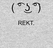 Le Lenny | REKT (Black) Zipped Hoodie