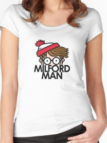 Milford Man Graduate Women's Fitted Scoop T-Shirt