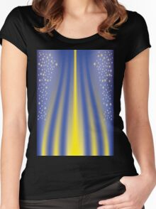 Light Pillar Women's Fitted Scoop T-Shirt