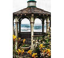 Ocean View Gazebo Photographic Print