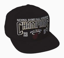 Miami Heat 2013 Championship Hat by gotselvedge