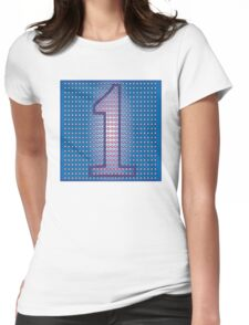 You're Number 1! Womens Fitted T-Shirt
