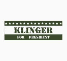 For President Klinger by ImagineThatNYC