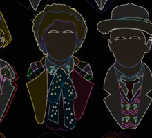 All 11 Doctors Sticker