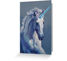 Jewel the Unicorn Greeting Card
