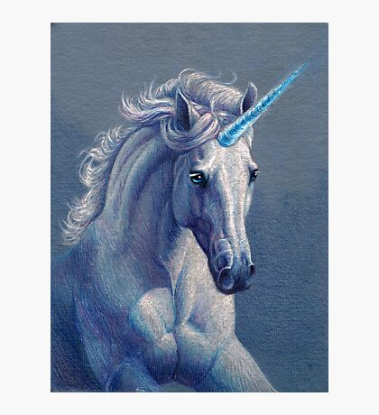 Jewel the Unicorn Photographic Print