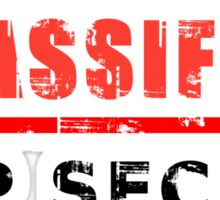 Classified Top Secret Sticker