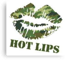 MASH Hot Lips Canvas Print